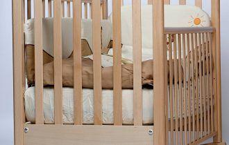 Кроватка с качалкой
