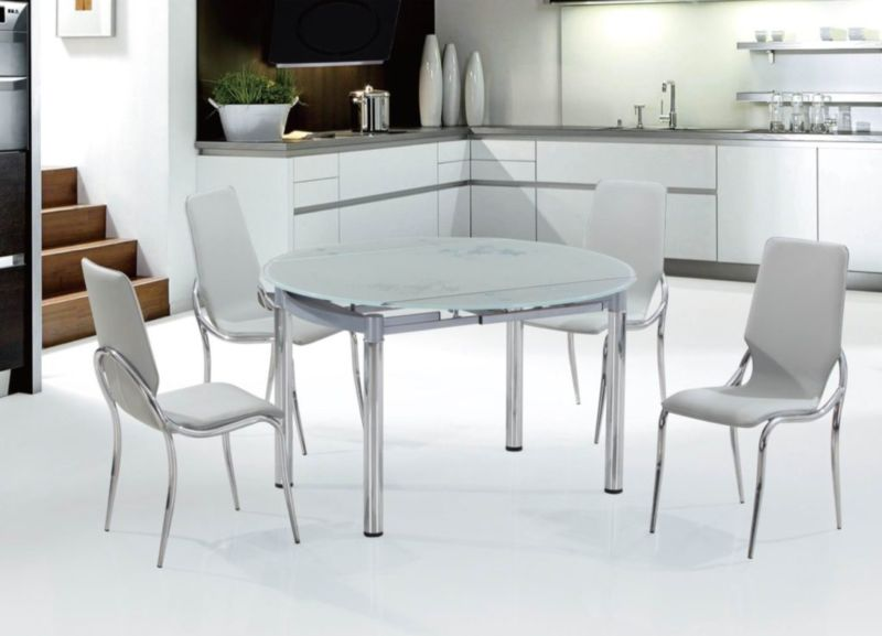 Стеклянные столы: