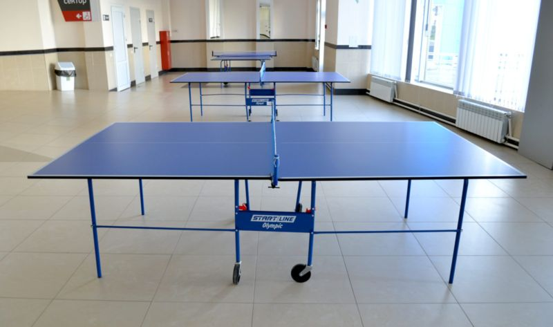 Классификация теннисных столов по сфере использования