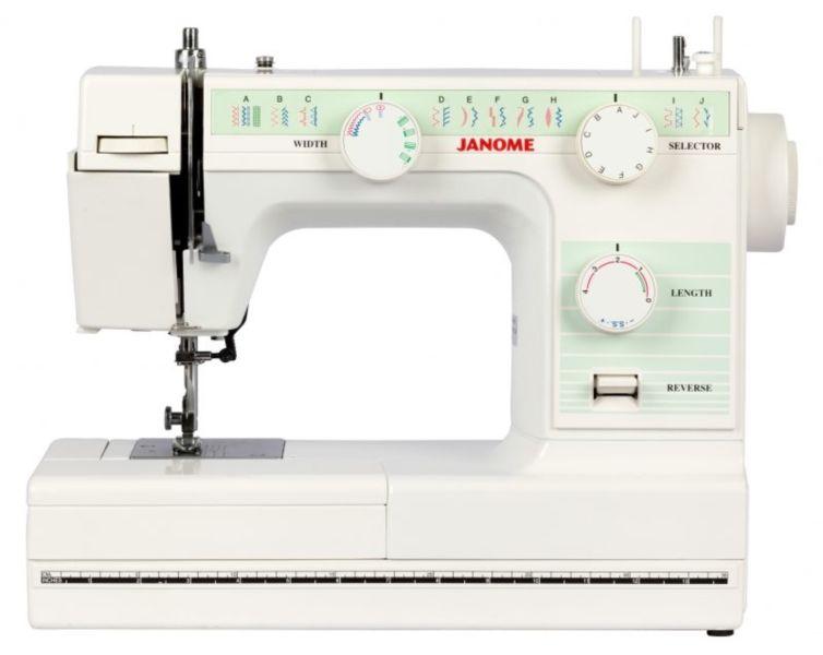 Плюсы модели Janome 2212: