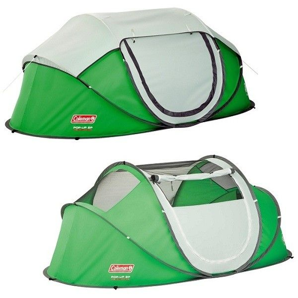 Двухместная палатка Coleman Pop-Up Tent.