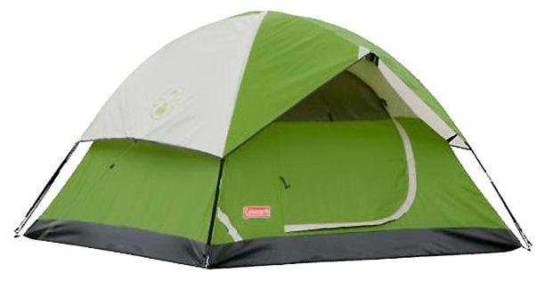 Двухслойная четырехместная палатка Coleman Sundome 4.