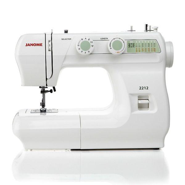 Модель Janome 2212