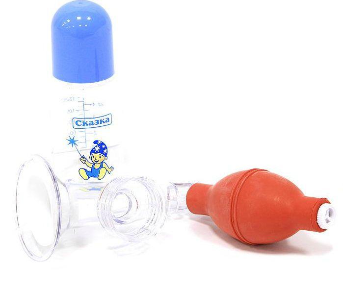 Преимущества устройства с резиновой грушей