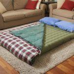 8 видов лучших надувных матрасов