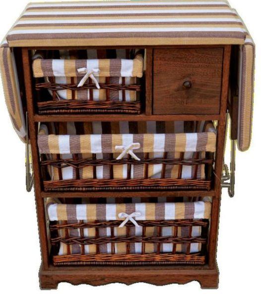 Гладильная доска с ящиками для белья