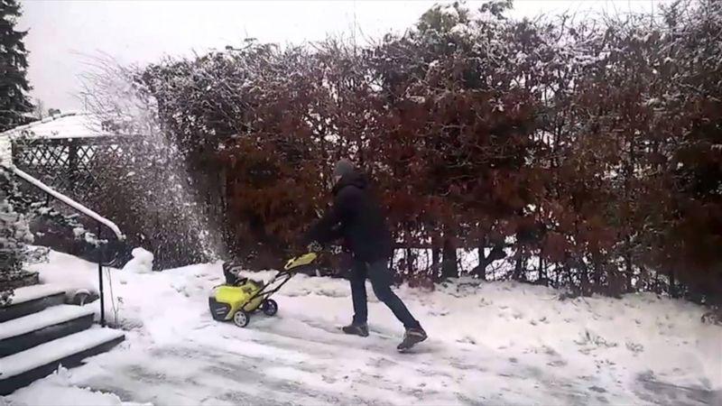 Лучший аккумуляторный снегоуборщик