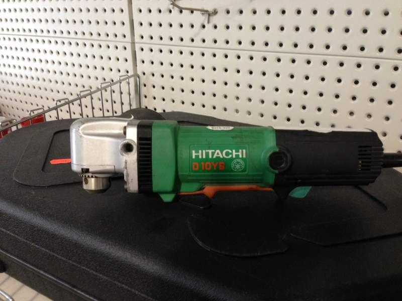 Лучшая угловая дрель HitachiD10YB