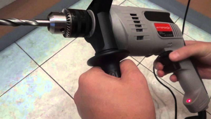 Лучшая ударная дрель «Интерскол ДУ-13/780ЭР»