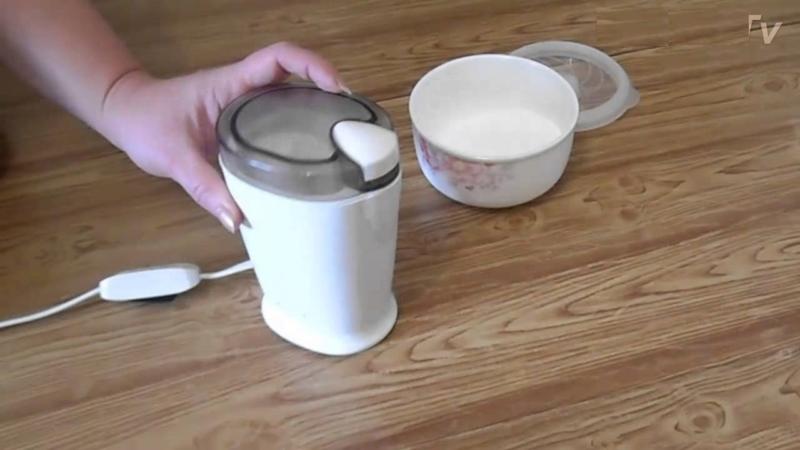 Лучшая кофемолка для сахарной пудры