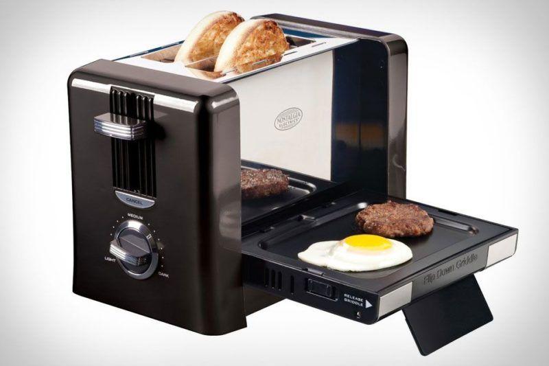 Лучший тостер с грилем