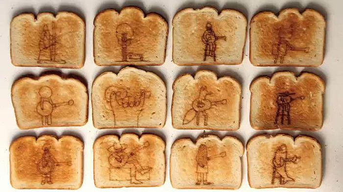 Лучший тостер с рисунком