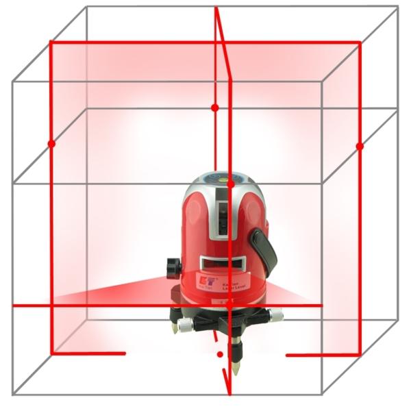 KaiTian 5 Lines 6 Pointts – лучший лазерный нивелир 360 градусов