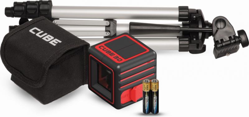 ADA CUBE 3D PROFESSIONAL EDITION – лучший трехплоскостной лазерный нивелир