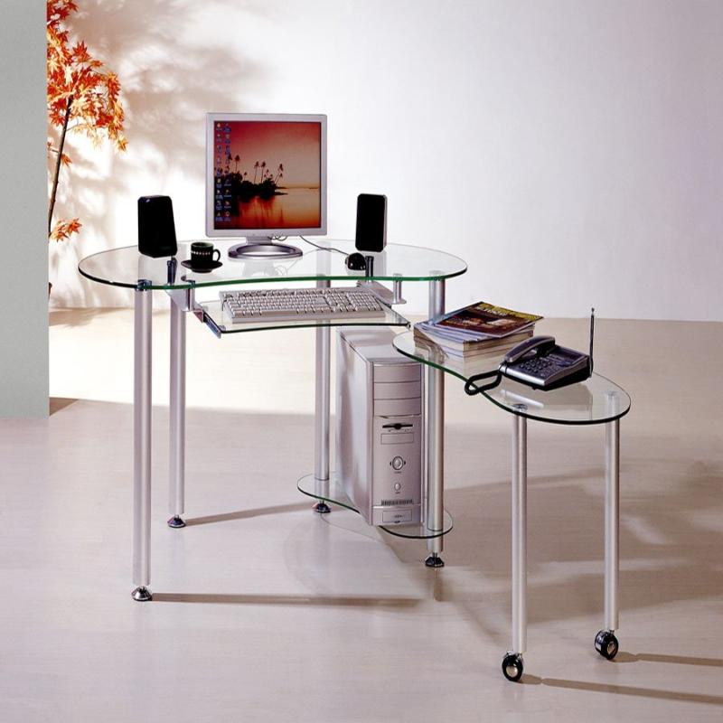 Лучший компьютерный стол из стекла