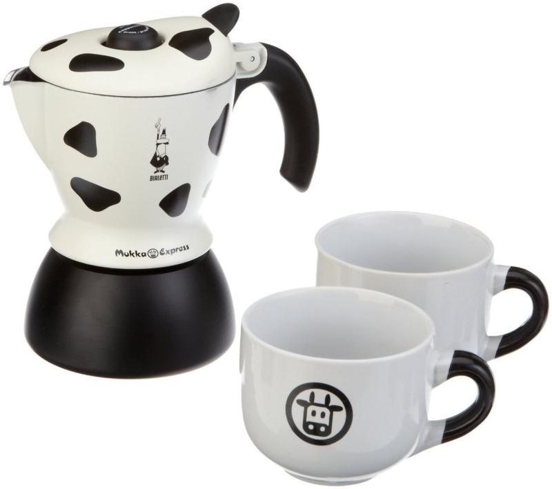 Bialetti Muka Express Cappuccino – лучшая гейзерная кофеварка для капучино