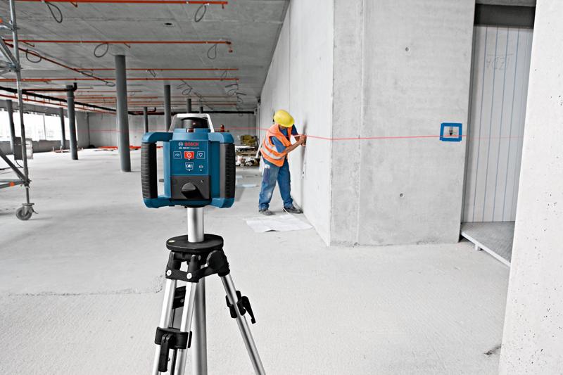 Bocs GRL 300 HV – лучший ротационный лазерный нивелир