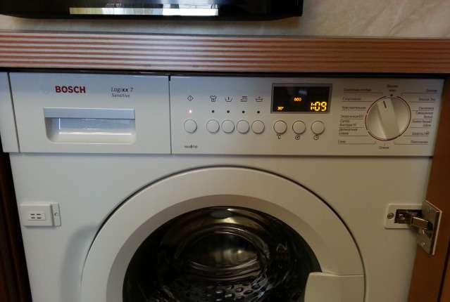 WIS 28440 – лучшая стиральная машина бош, встраиваемая под столешницу