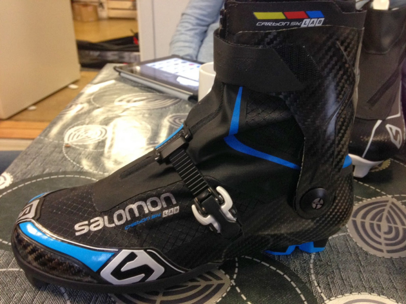 Комплектация Salomon Carbon Skate Lab Carbon Blue