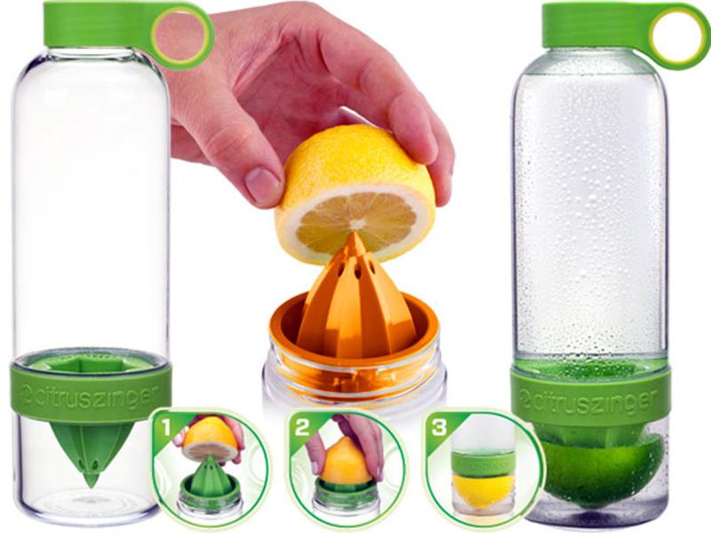 Citrus Zinger – лучшая соковыжималка для цитрусовых на бутылку