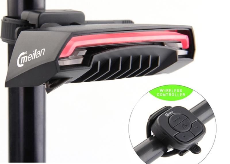 Модель Cmeilan X5 – лучший лазерный велофонарь