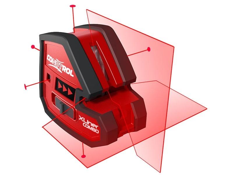 Condtrol xliner combo set – лучший профессиональный лазерный нивелир
