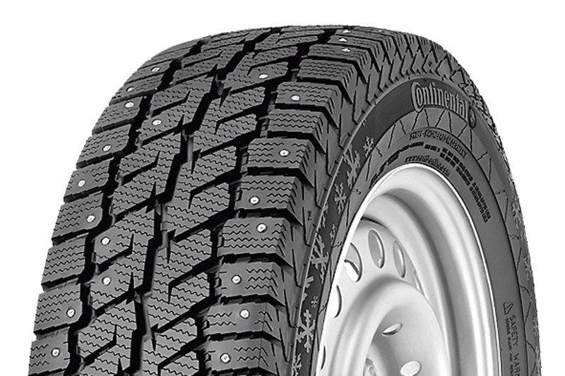 Лучшие зимние шины для грузовиков Continental VancoIceContact