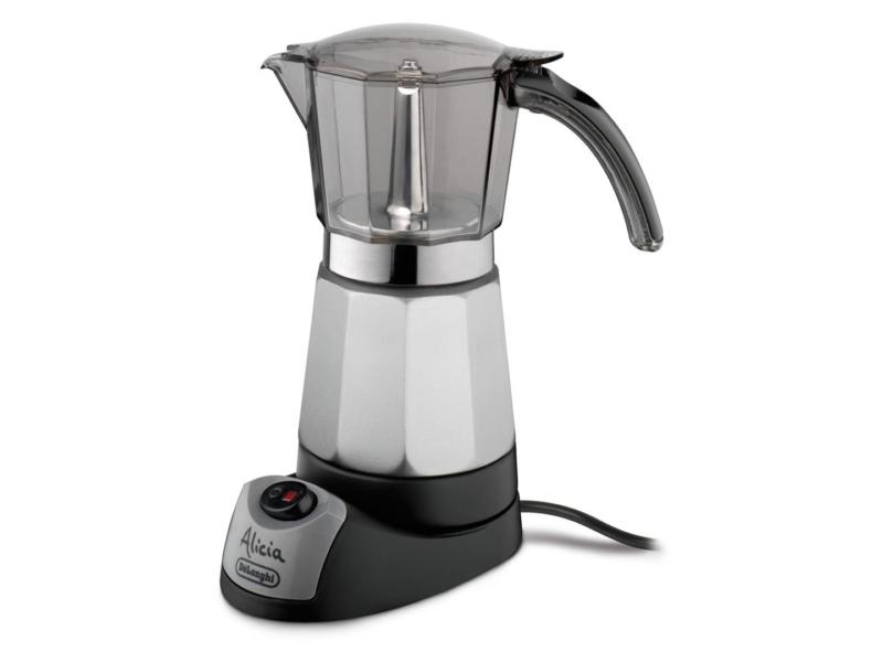 Delonghi EMK 9 – лучшая электрическая гейзерная кофеварка