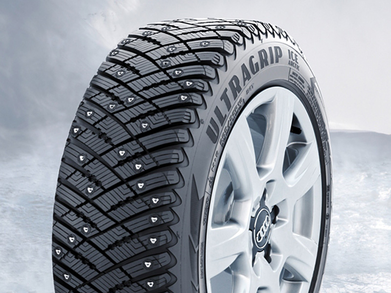 Плюсы Goodyear UltraGrip Ice Arctic