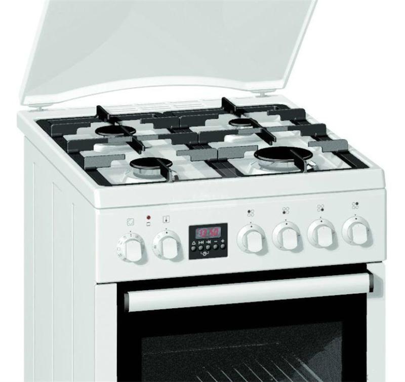Лучшая газовая плита с электрической духовкой – Gorenje K 55320 AW