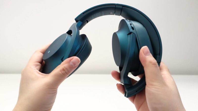H Ear On Wireless MDR-100ABN – лучшие наушники с шумоподавлением.