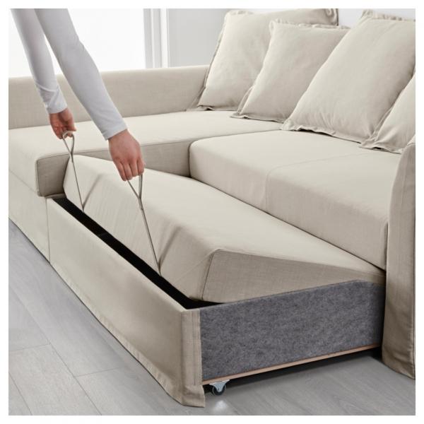 Лучший угловой диван с ящиком для хранения