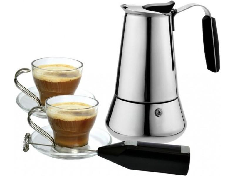 Krauff – лучшая гейзерная кофеварка из нержавеющей стали