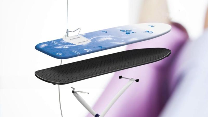 Leifheit AIRBOARD DELUXE XL PLUS – лучшая гладильная доска без подставки под утюг
