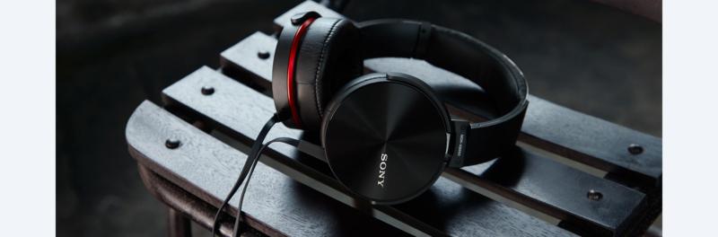 MDR-XB950AP – самые громкие наушники Sony.