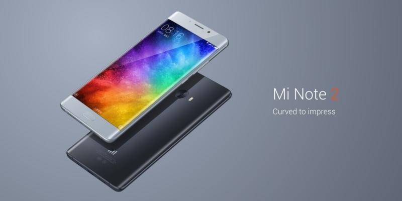 Mi Note 2 – лучший телефон с изогнутым экраном