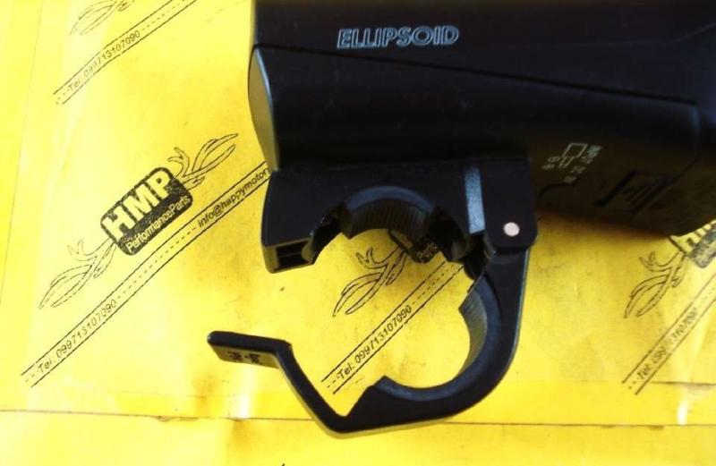 Модель Sigma Sport Ellipsoid – лучший галогеновый велофонарь