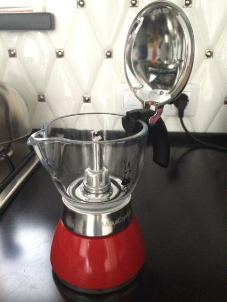 Moka Crystall – лучшая гейзерная стеклянная кофеварка