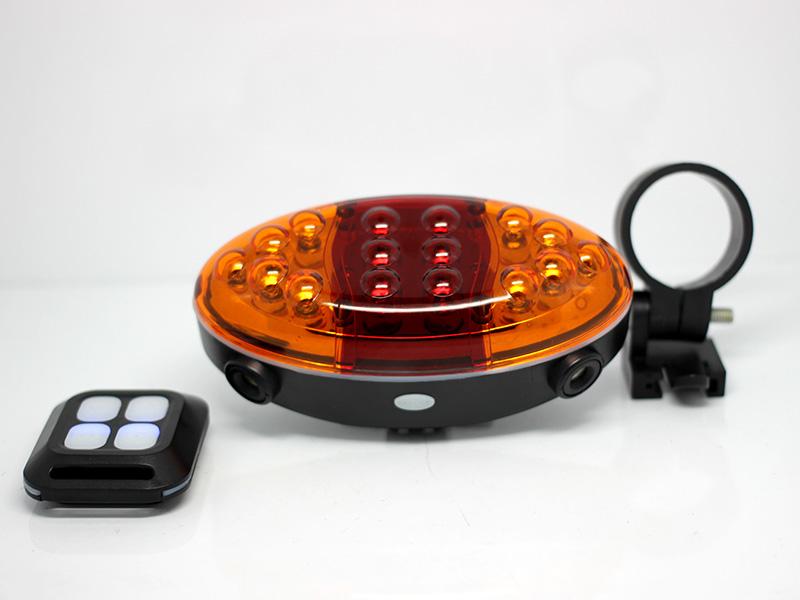 Модель Nanoled PRO-L73 – лучший велофонарь с поворотниками