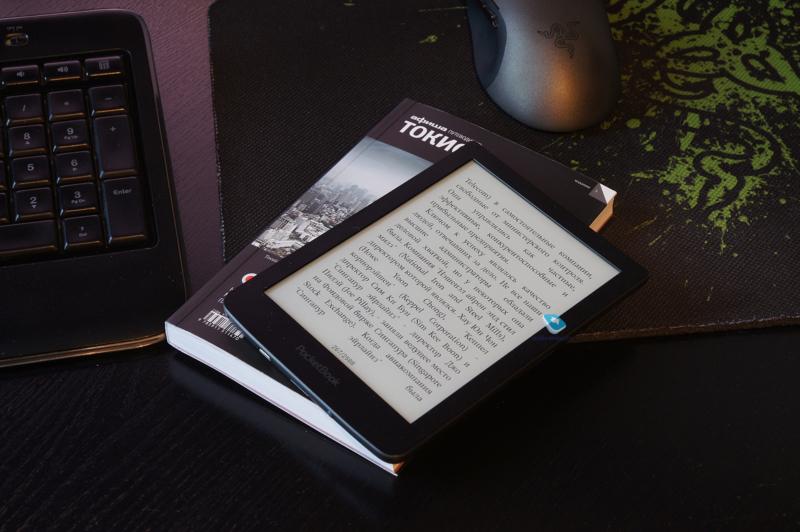 Pocketbook 630 – электронная книга с мультисенсорным экраном