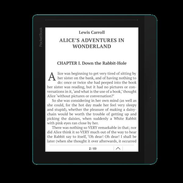 Pocketbook Inkpad 84 – электронная книга с аудио-выходом