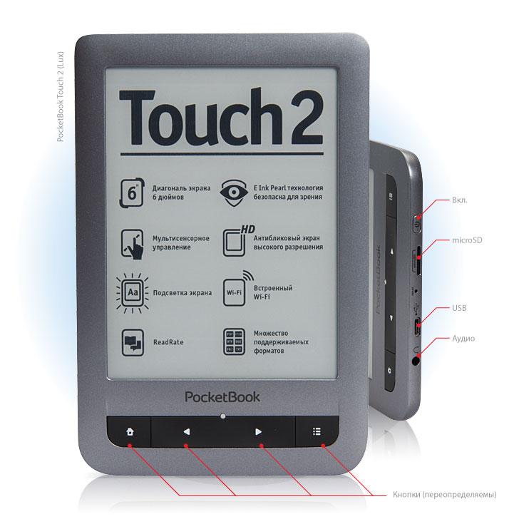 Характеристики Touch 2