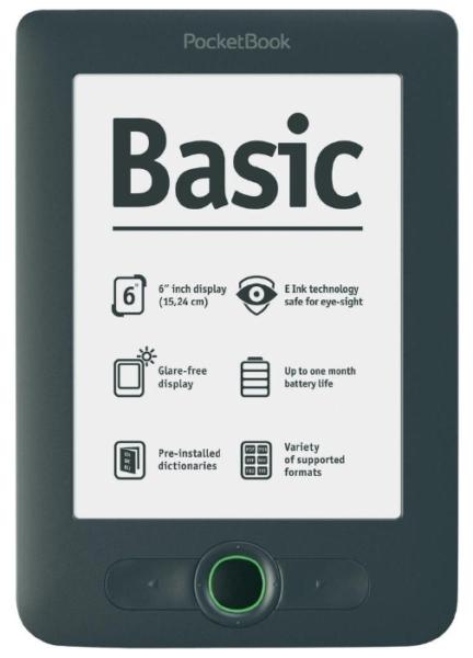 Pocketbook basic – электронная книга для начинающих читателей