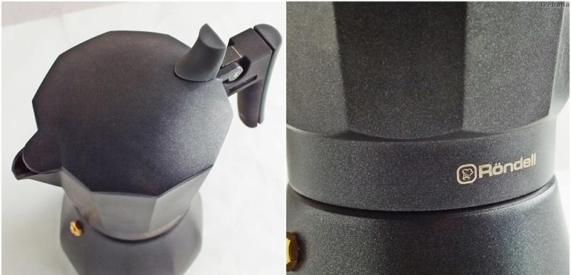 Rondell Kafferro – лучшая алюминиевая гейзерная кофеварка
