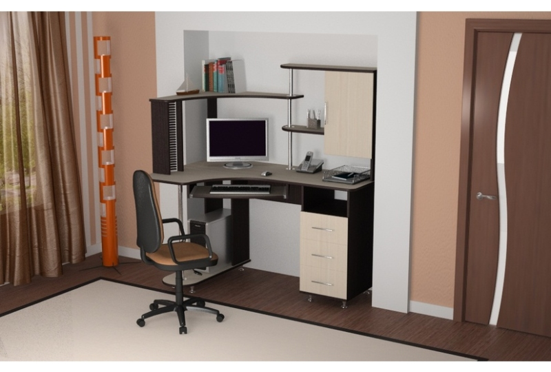 Лучший компьютерный стол со шкафом