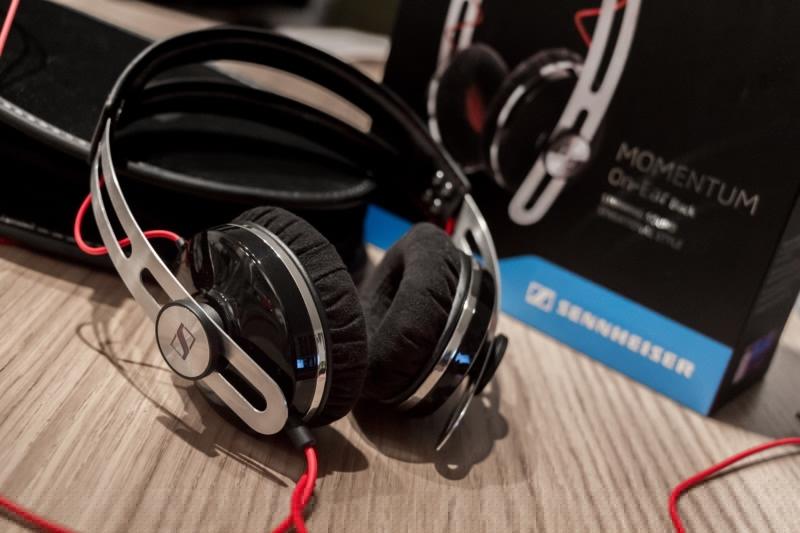 Sennheiser Momentum On-Ear – лучшие наушники с активным шумоподавлением