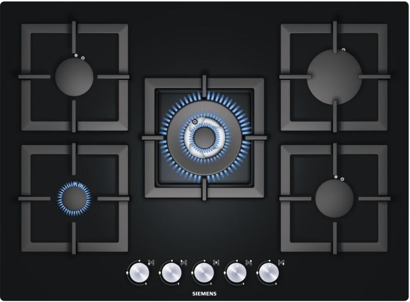 Лучшая газовая плита без духовки (варочная панель) – Siemens EP716QB21E