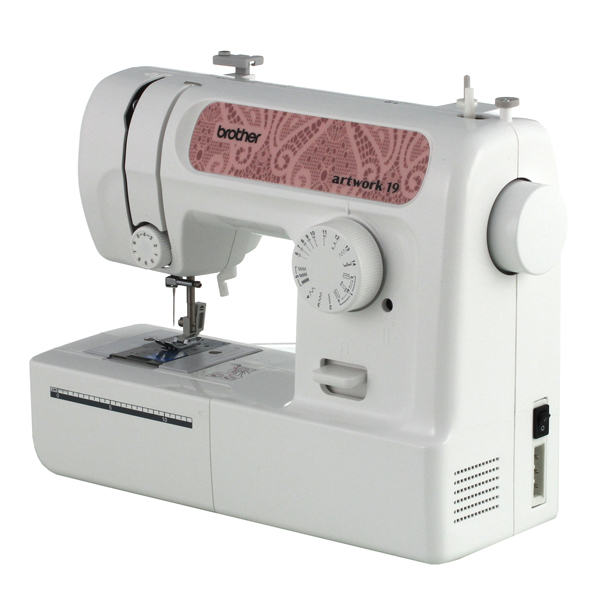 Вrother Аrtwork 19 – швейная машина для начинающих рукодельниц