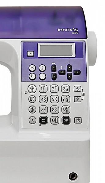 Вrother Іnnov +is 650 – функциональная швейная машина для выполнения 429 операций