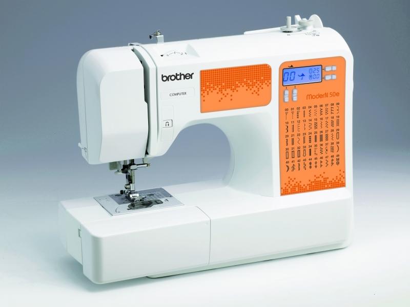 Вrother Мodern N 40Е – компьютеризированная швейная машина с жидкокристаллическим экраном